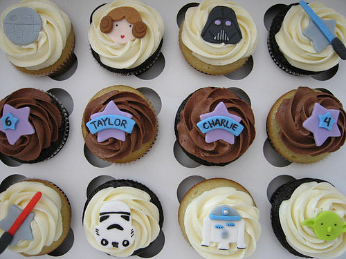 Happy Star Wars Day Cupcakes