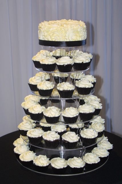 Black & White Wedding | Cupcake Ideas For You