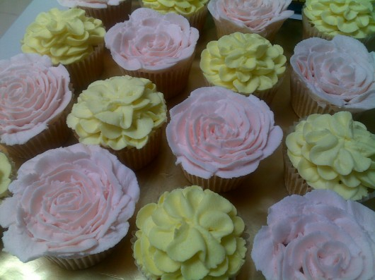 cupcake ideas flowers