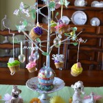 cupcake ideas easter tree2
