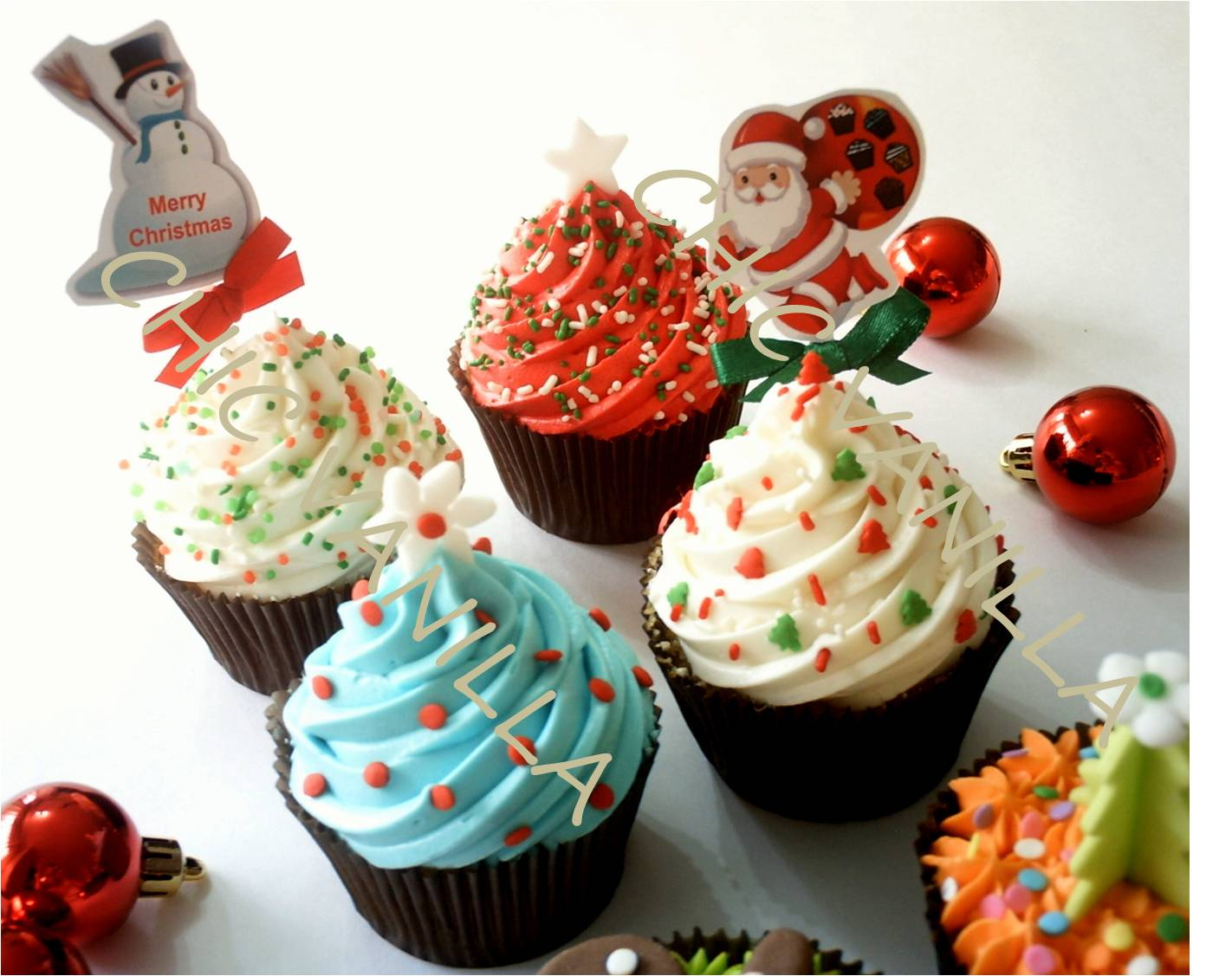 Christmas Cupcake Decorations : Christmas cupcakes! Cupcake Ideas For You