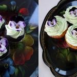 SPRING cupcakes FLOWERS