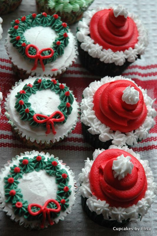 Christmas Cupcake Decorations : Santa Baby Christmas Cupcake Ideas Cupcake Ideas For You
