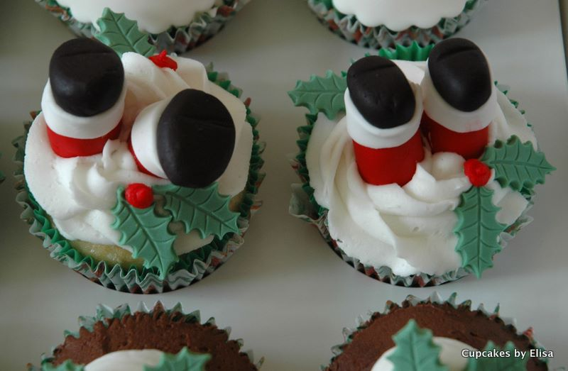 Christmas Cupcake Decorations : Assorted Christmas Cupcakes Cupcake Ideas For You