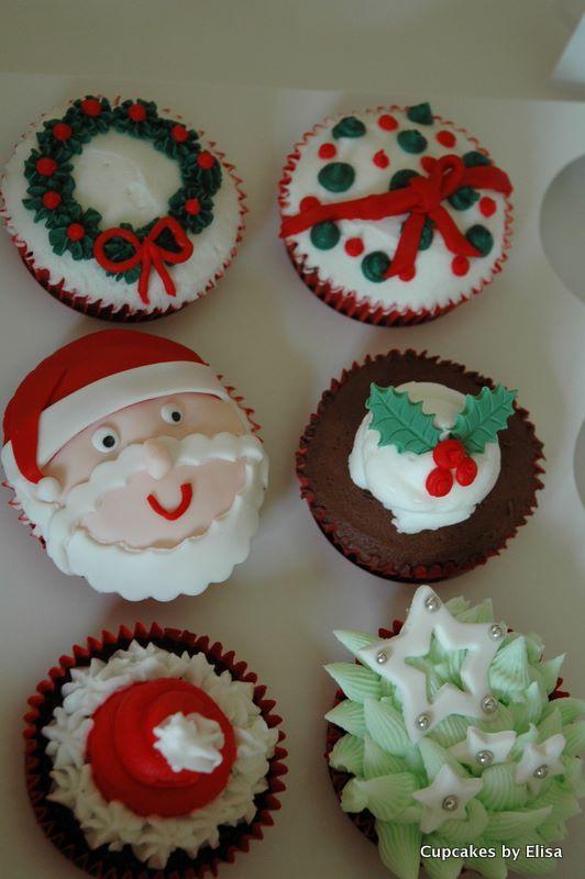 Christmas Cupcake Ideas : Assorted Christmas Cupcakes Cupcake Ideas For You
