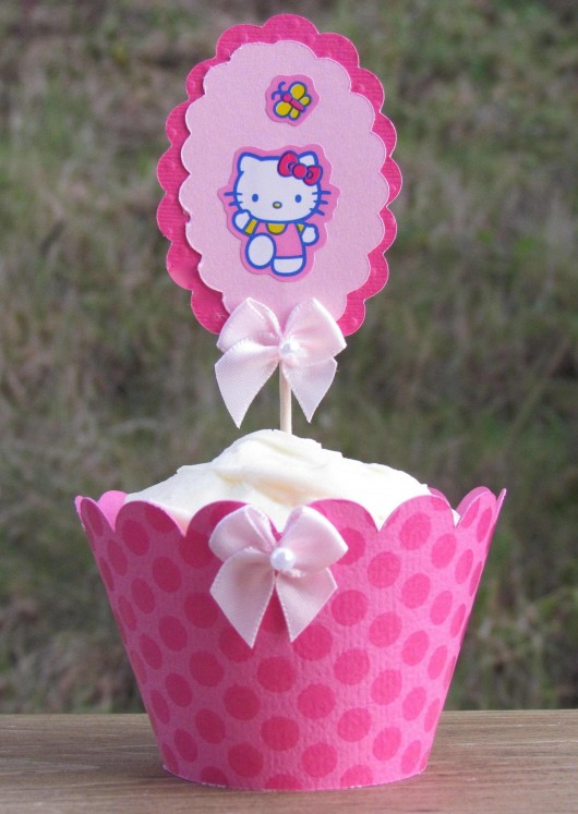 cupcake designs for girls birthday