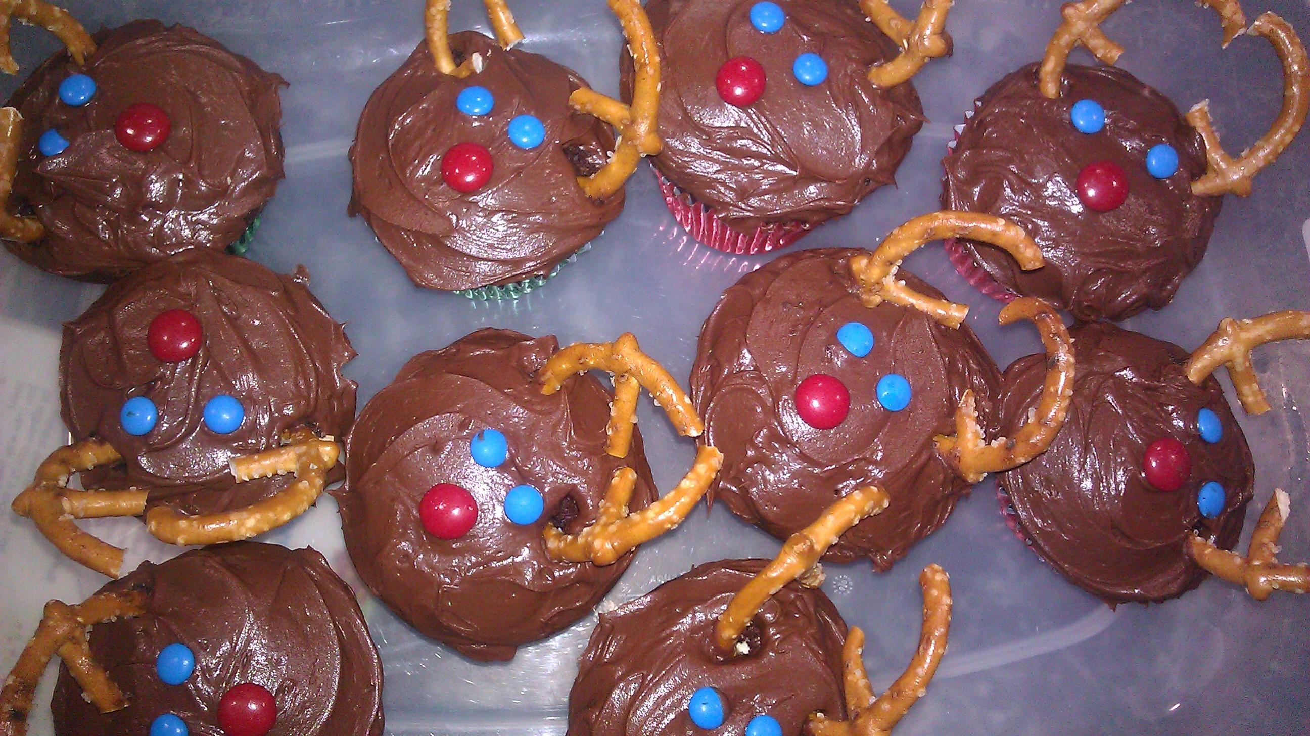 Easy Christmas Cupcakes For Kids.Christmas Cupcake Ideas Reindeers Cupcake Ideas For You