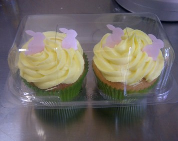 Beautiful  Lemon  Cupcakes!