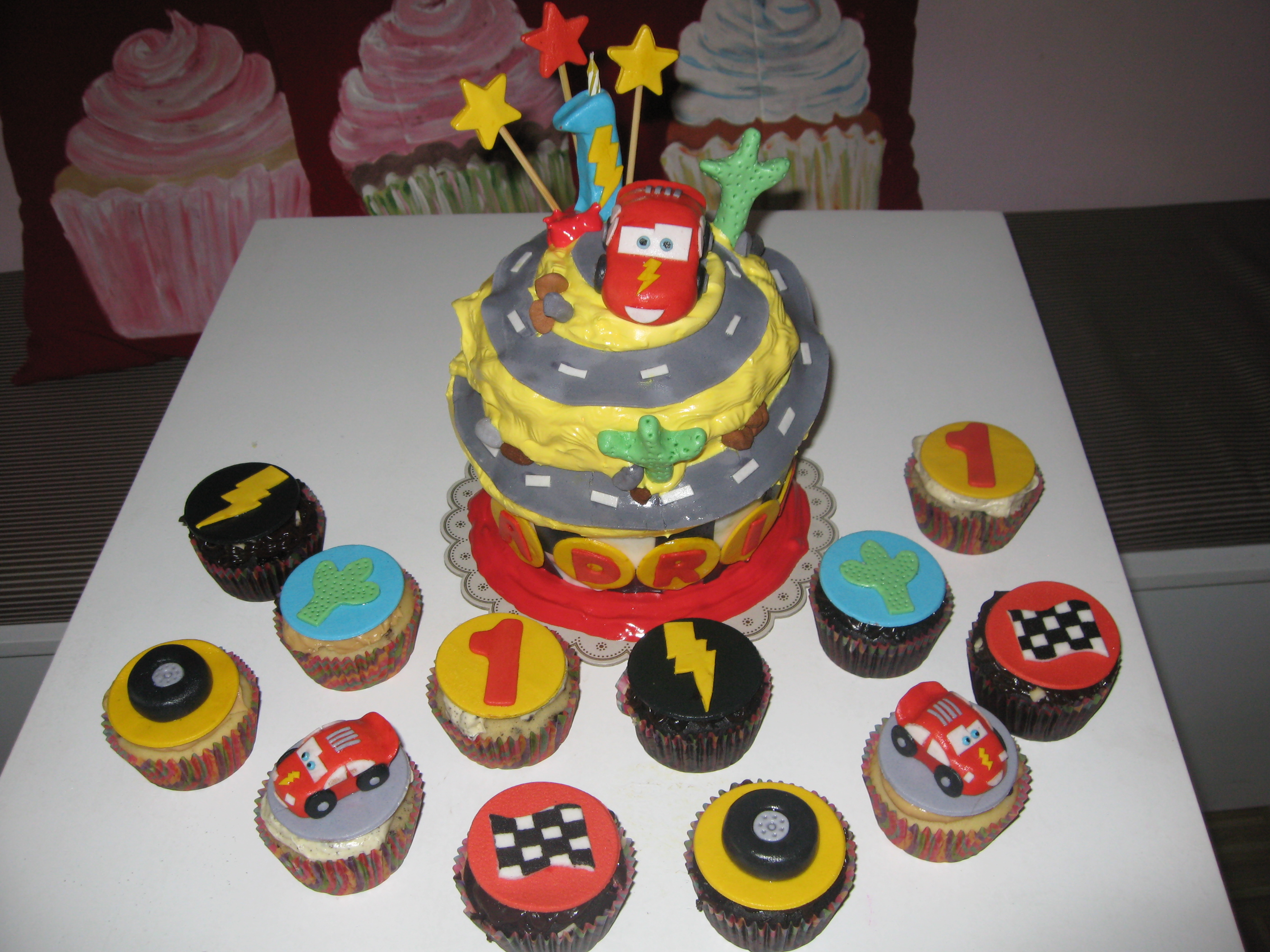 Lightning Mcqueen Birthday Cupcakes Cupcake Ideas For You
