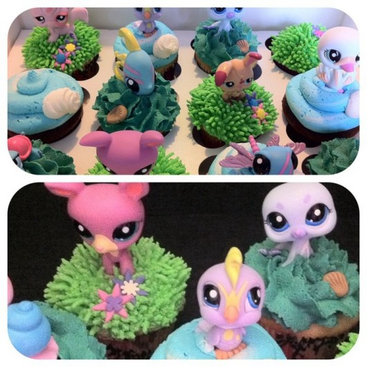 Littlest Pet Shop Cupcakes