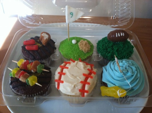 Cupcake Ideas for Father's Day