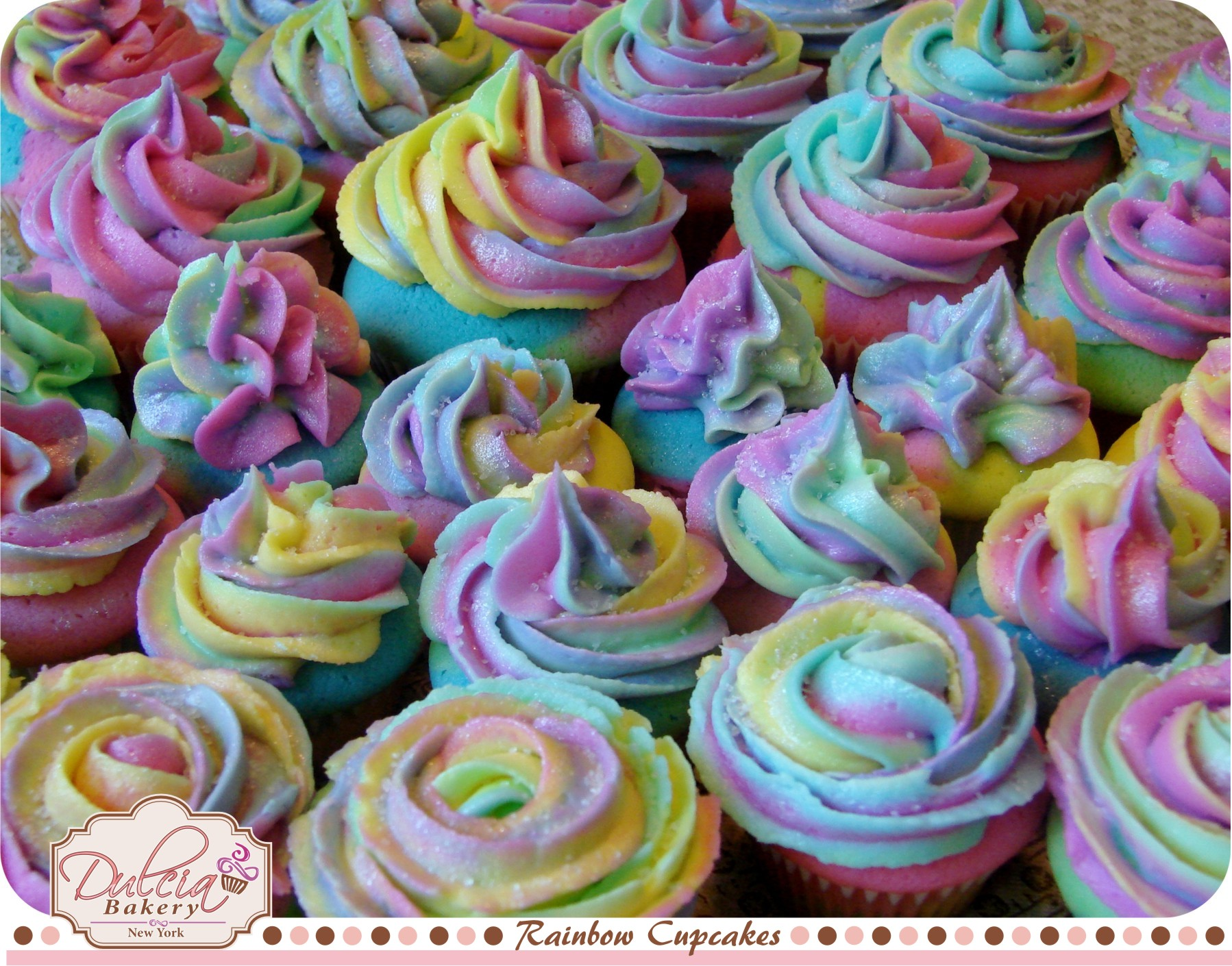 CupCake Ideas - Rainbow Cupcakes Cupcake Ideas For You