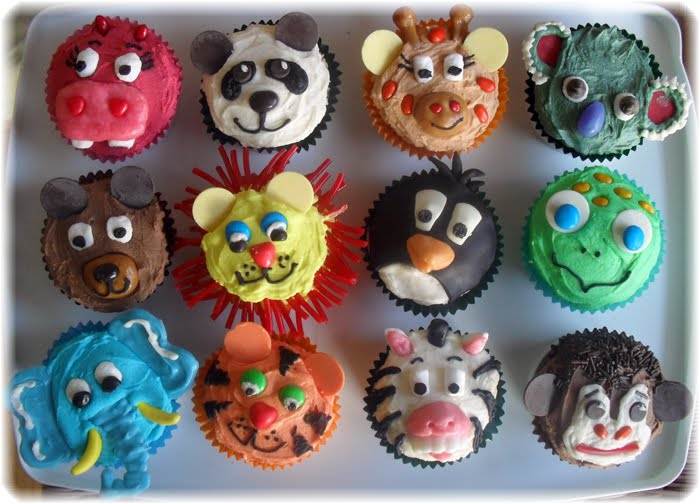 Cupcake Decorating Ideas Animals : Passion for Creative Cupcakes Cupcake Ideas For You