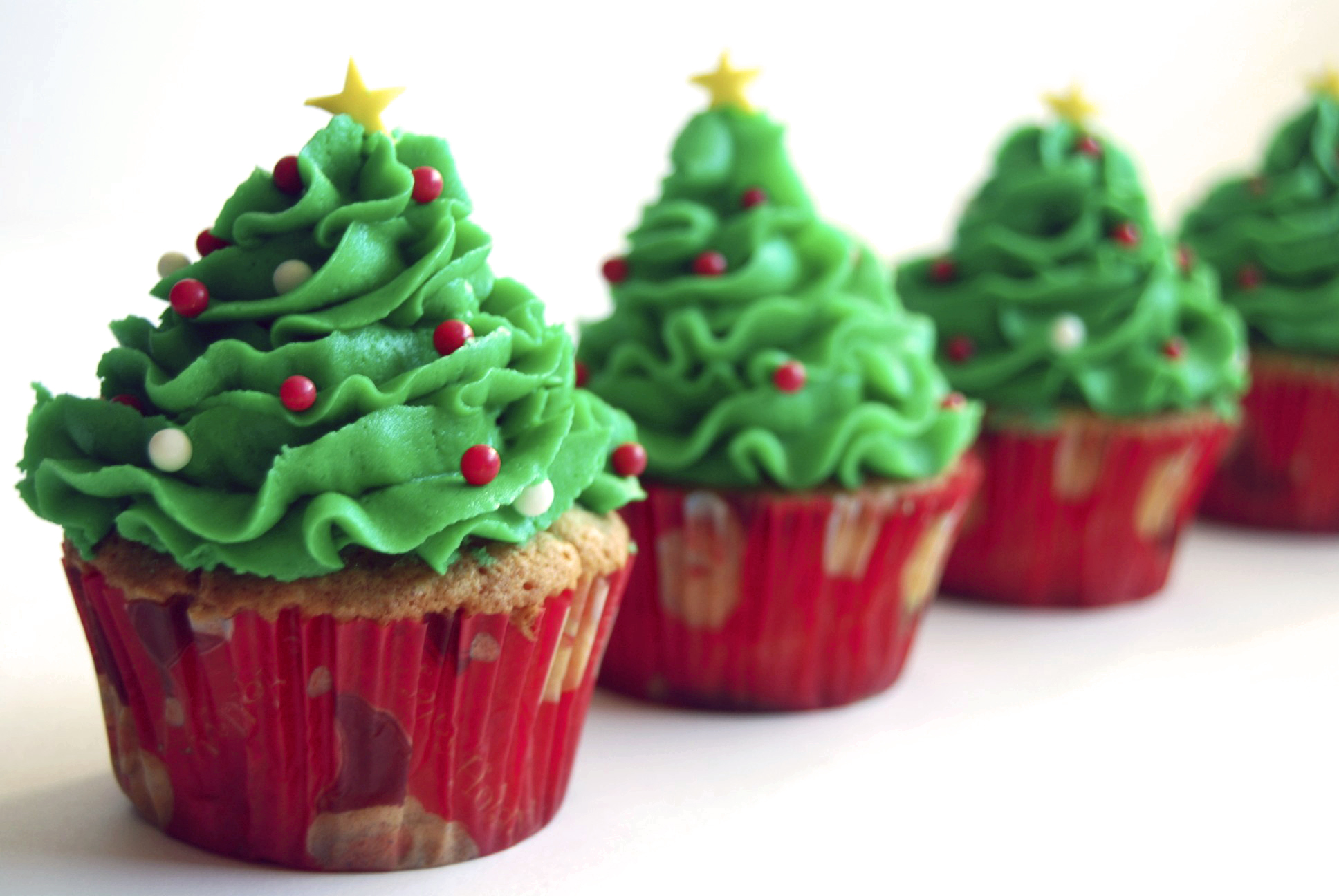 Cupcake Decorating Christmas Tree : Christmas Cupcakes Cupcake Ideas For You