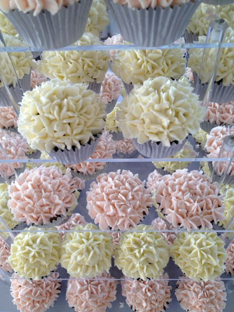 Pale Pink & White Wedding Tower Cupcake Ideas For You
