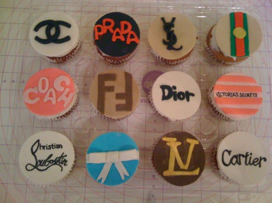 Couture Designer Cupcake Ideas