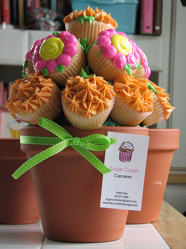 cupcake-bouquet-sugarcrushmiami-pot