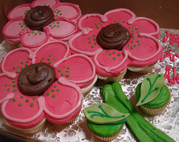 Cupcake Cakes For Mothers Day