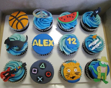Cute Cupcakes For Boys Birthday http://cupcakeideasforyou.com/featured/boys-birthday-cupakes/