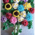 flower-bouquet cupcake ideas