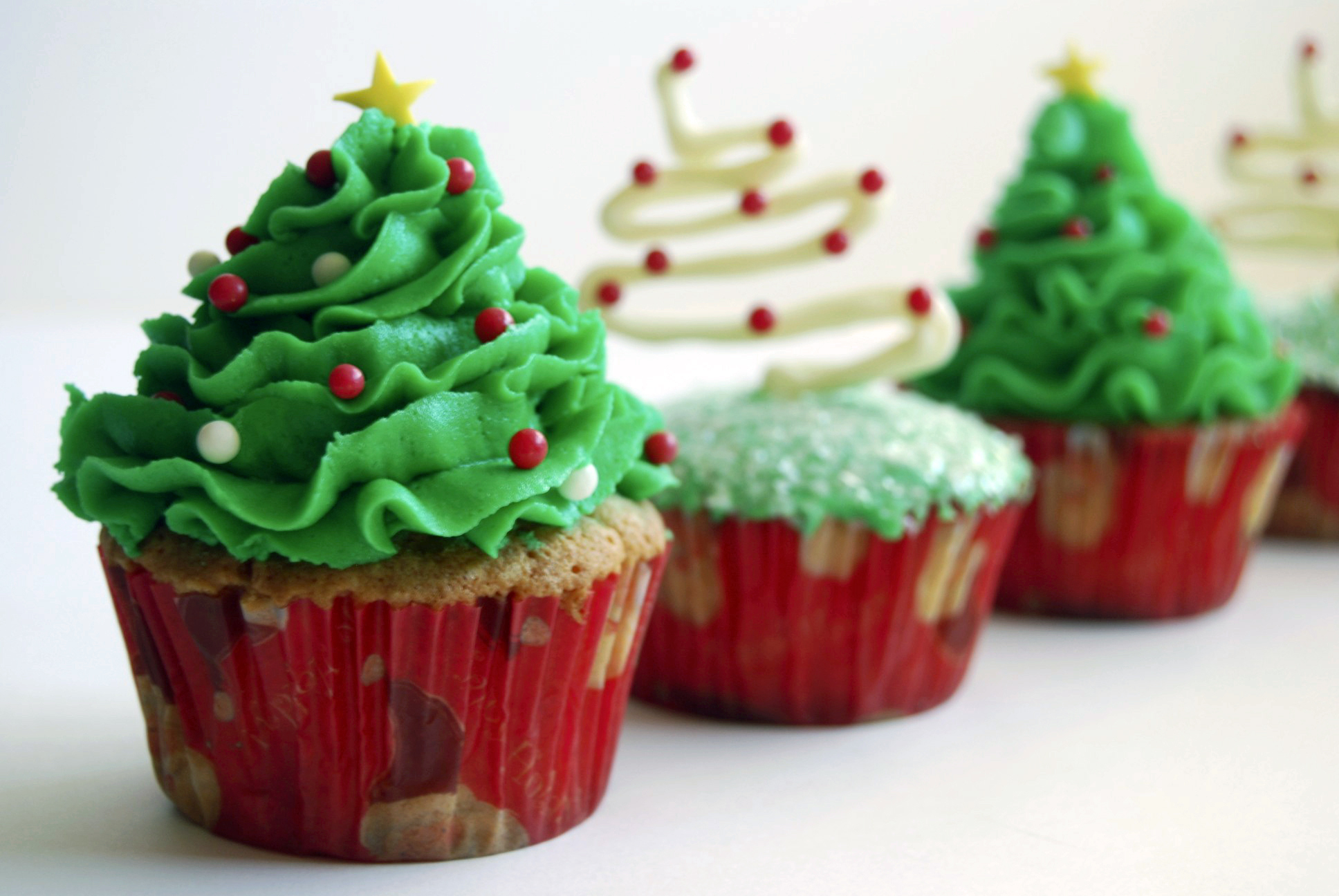christmas cupcake ideas - Christmas Cupcake Decorations
