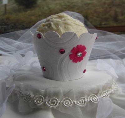 Elegant Wedding Ideas on Elegant Wedding Wrappers   Cupcake Ideas For You