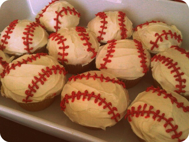 baseball birthday cupcakes idea on birthday cake designs to do at home