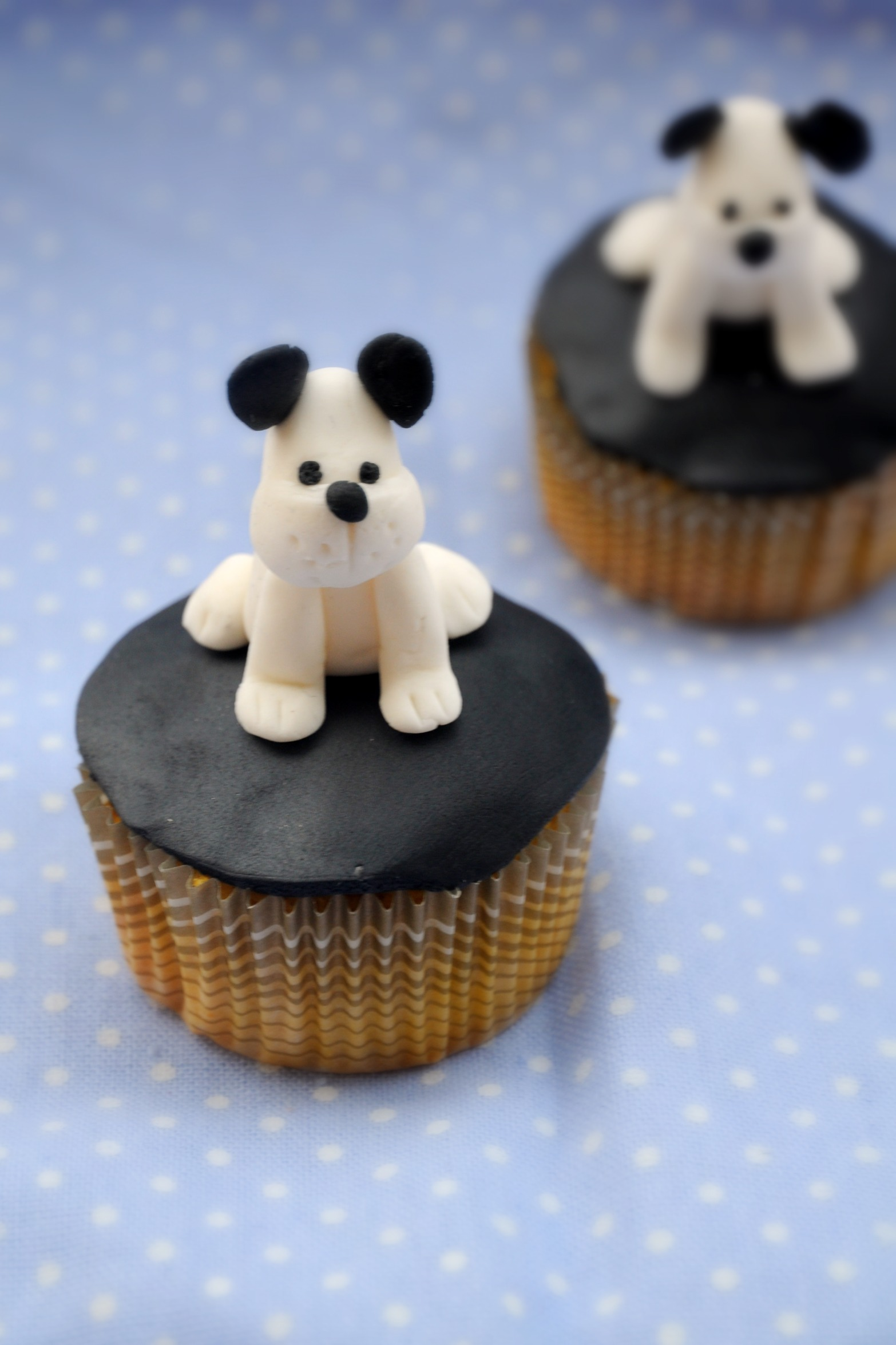 Puppy Cup Cake Topper | Cupcake Ideas For You