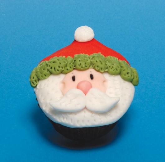 santa cupcake idea