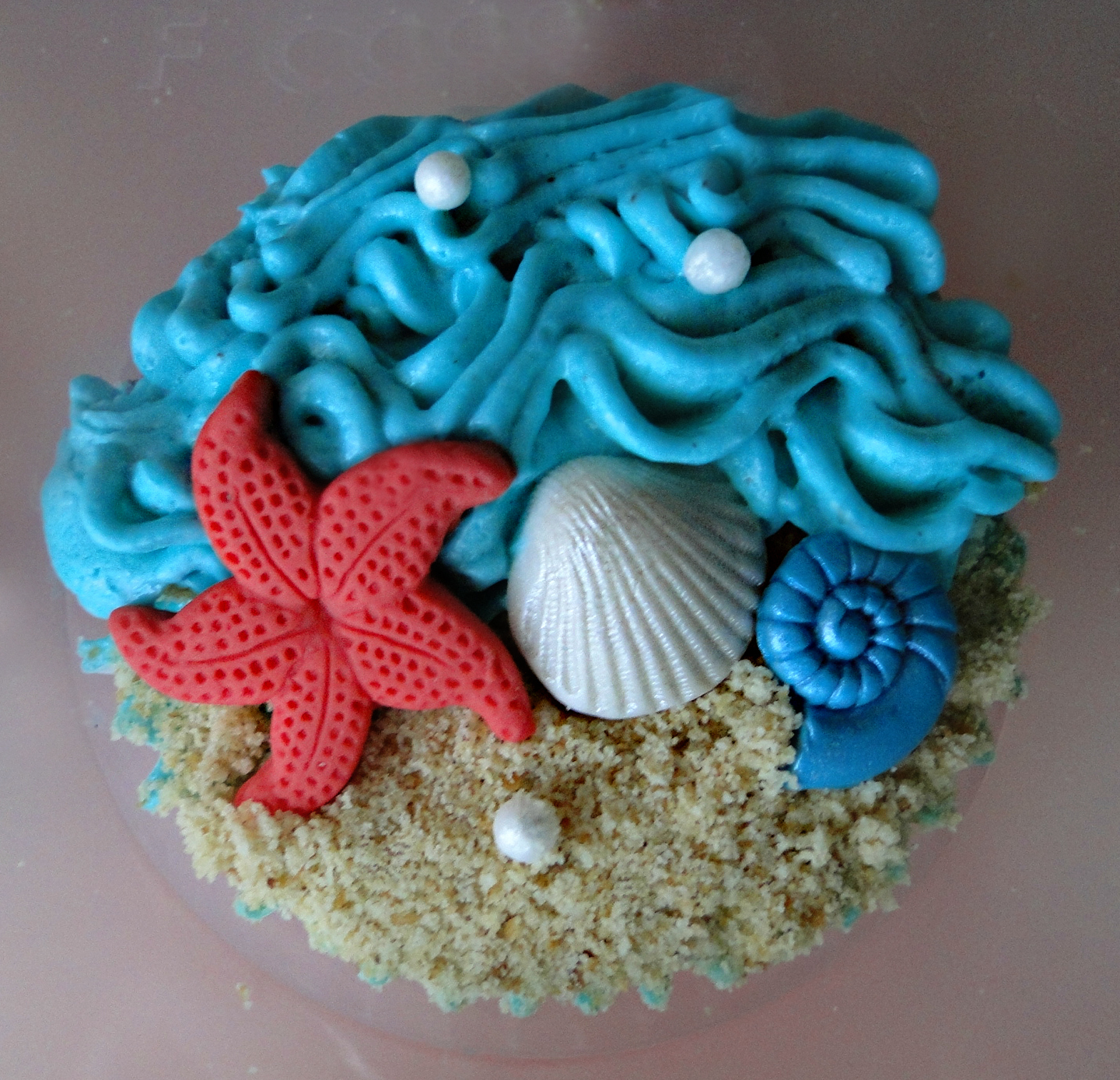 Cupcake Ideas With a Beach Theme