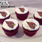 Cupcakes for the Arizona Cardinals