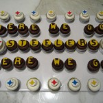 Here We Go Steelers Cupcake Ideas
